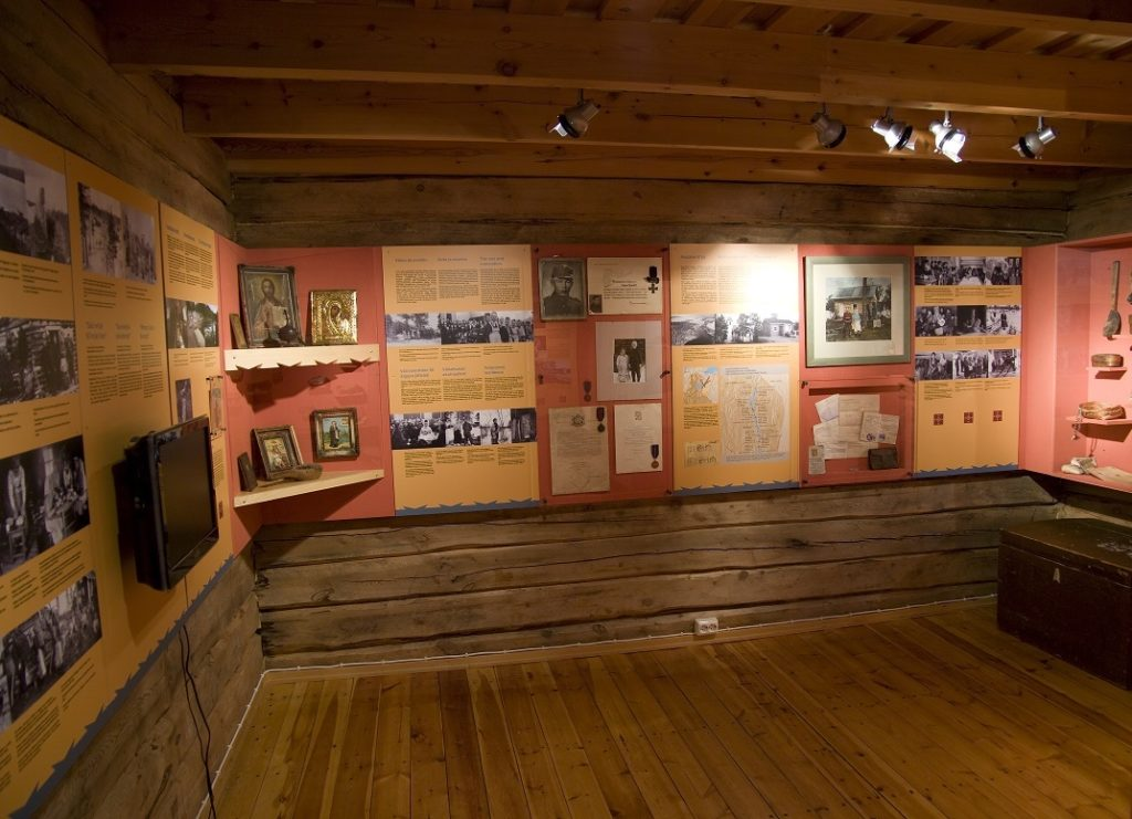 Skolt Sámi Heritage House exhibition