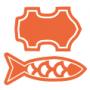 Symboli eläinperäiselle tuotteelle