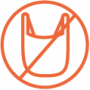 Symboli muovittomalle tuotteelle