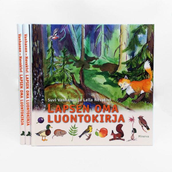 Kirjankansi lapsen oma luontokirja